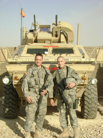 Twins Seth and Eli Lovell
