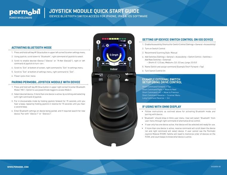 Permobil_joystick_module_quick_Start_Guide