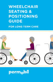 LTC Seating & Positioning Guide Cover Permobil Logo