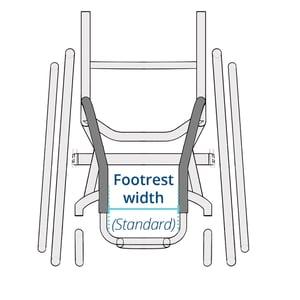 K0005-Footrest width standard