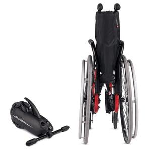 Rear-Mounted Power Assist Folding WC