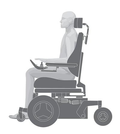 front-wheel-drive-wheelchair
