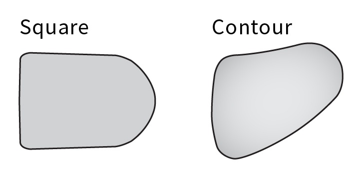 Lateral-Trunk-Support-Pad-Shape