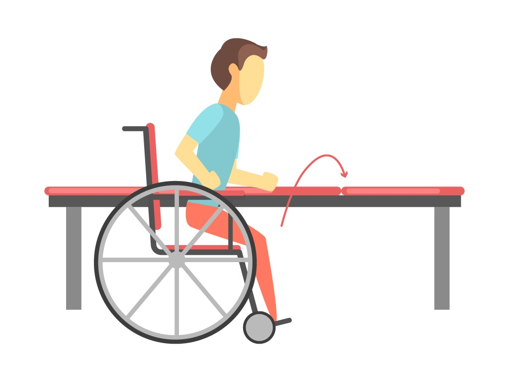 Wheelchair-Transfer