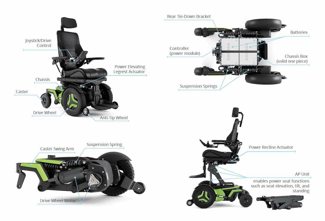 Anatomy of a power wheelchair optmize