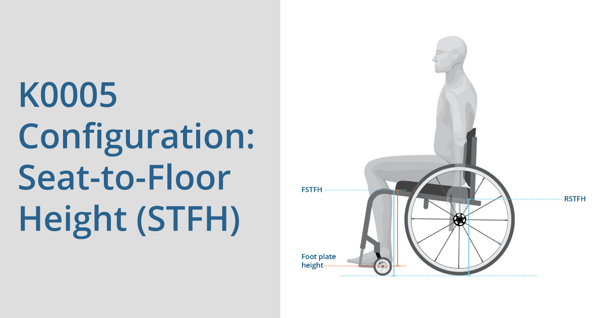 K0005 Configuration: Seat-to-Floor Height (STFH)