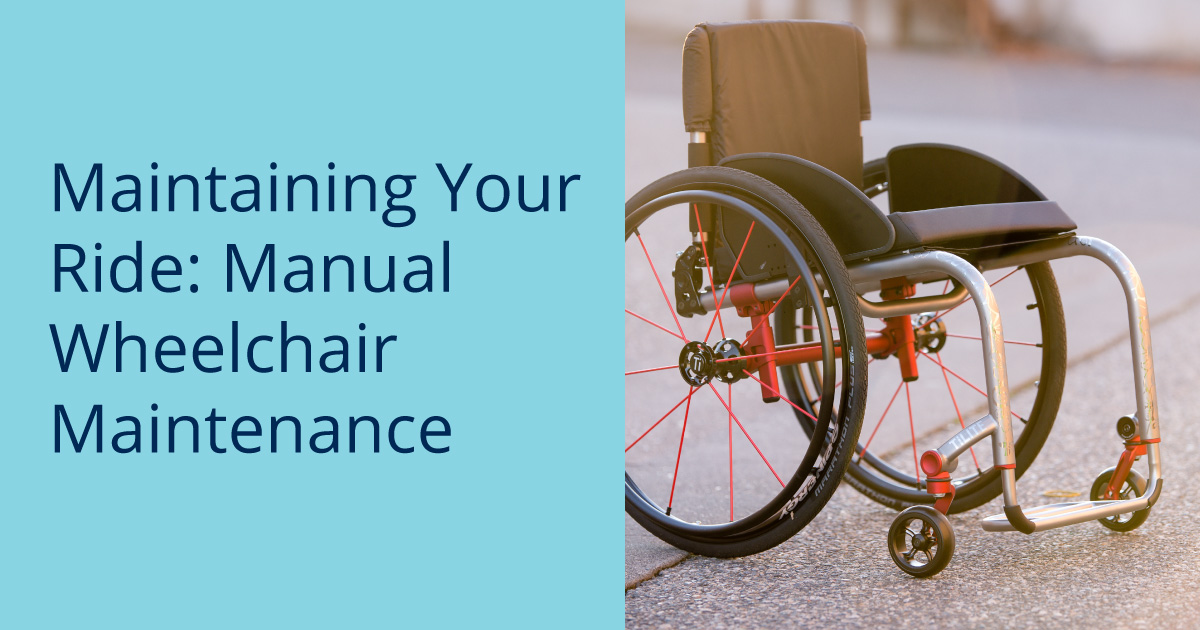 Manual Wheelchair Maintenance