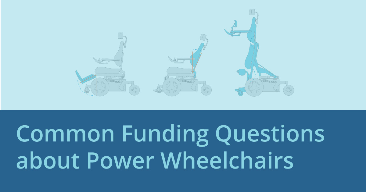 Common Funding Questions about Power Wheelchairs