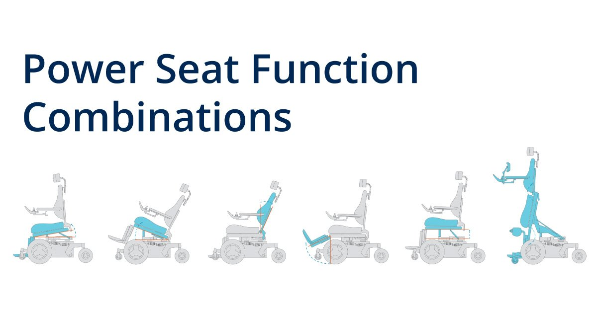Power Seat Function Combinations