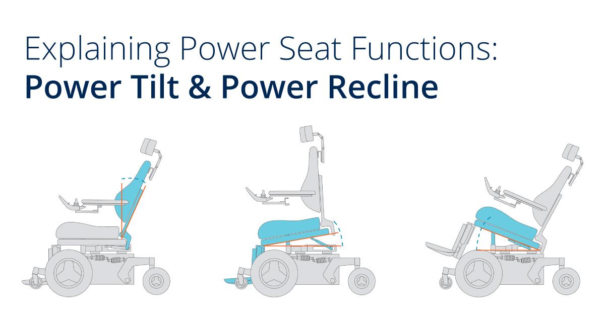 Explaining Power Seat Functions: Power Tilt & Power Recline