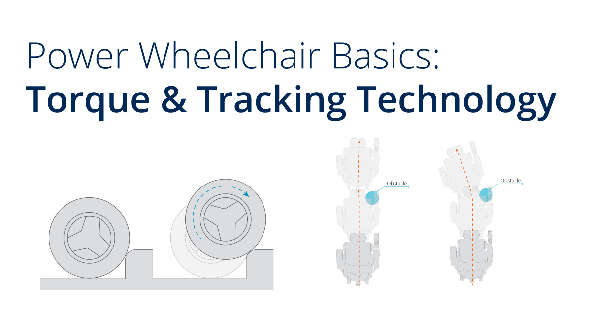 Power Wheelchair Basics: Torque & Tracking Technology