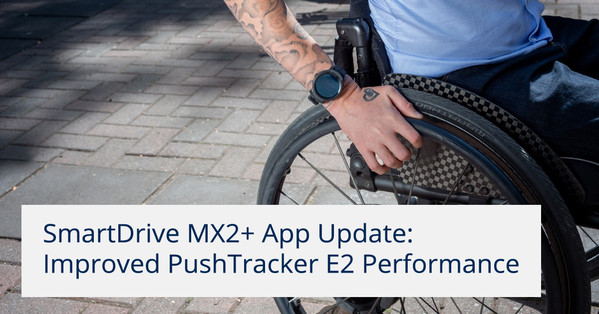 SmartDrive MX2+ App Update: Improved PushTracker E2 Performance