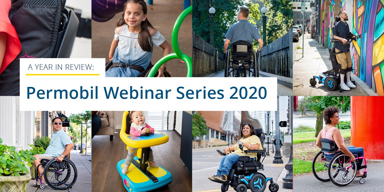 A Year in Review: Permobil Webinar Series 2020