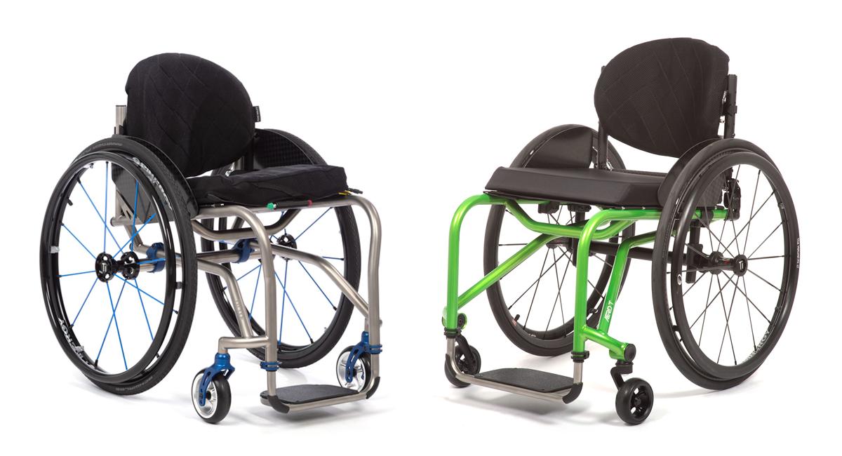 comparing titanium and aluminum manual wheelchairs
